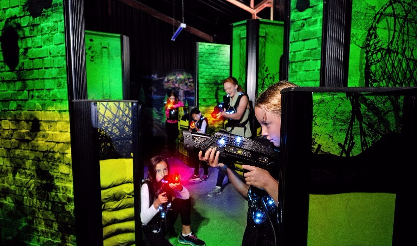 Hangar Laser Tag Arena (The)