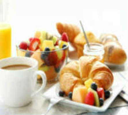 Continental breakfast daily