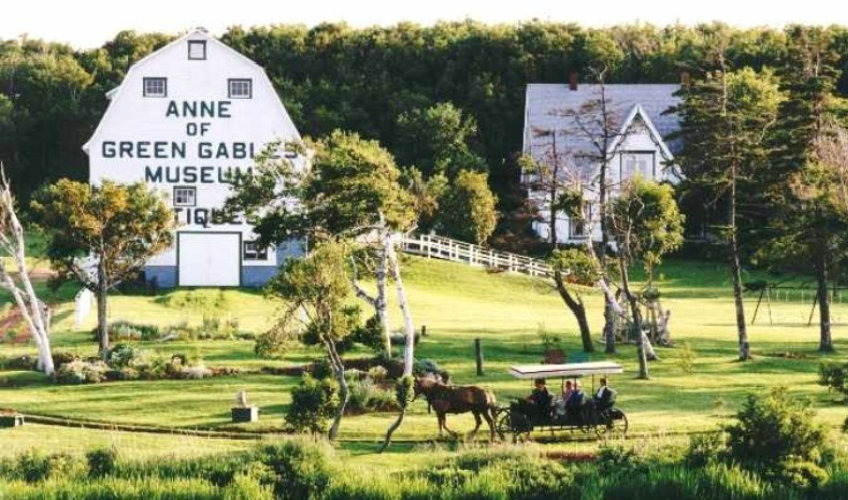 Passes to The Anne of Green Gables Museum, Silver Bush, Park Corner, followed by a romantic one hour horse-drawn carriage ride for two with 'Matthew' through the flower gardens, and along the 'Lake of Shining Waters' to a private beach.