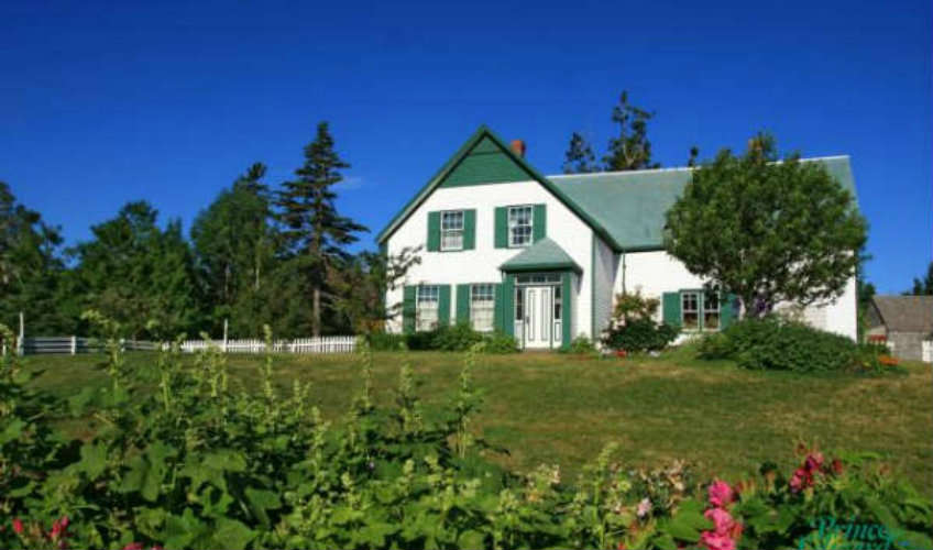 Passes to Green Gables Heritage Site, Cavendish - the setting for the novel