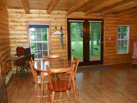 Mill River Log Home