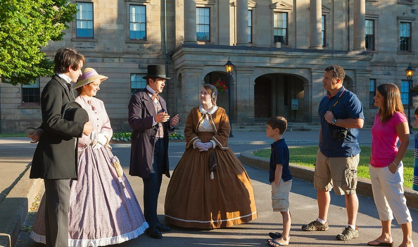 Confederation Players Walking Tours & Historical Reenactment