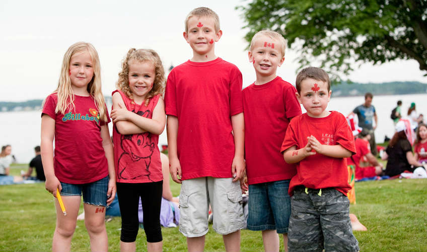 Canada Day Celebrations in Charlottetown
