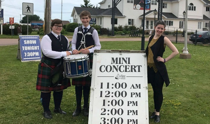 The College of Piping - Mini Concerts