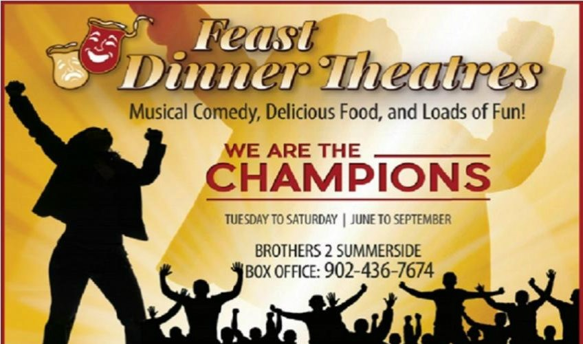 We Are The Champions- Feast Dinner Theatre