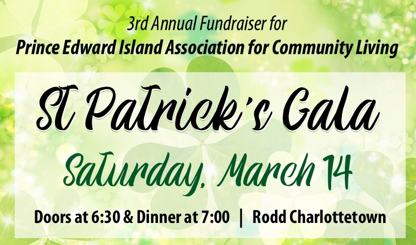 3rd Annual St. Patrick's Gala - PEI Association for Community Living