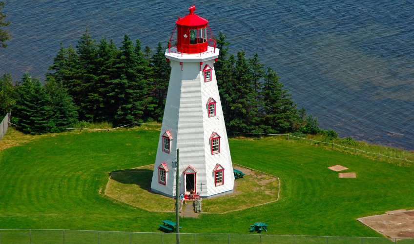 Panmure Island Lighthouse and Gift Shop