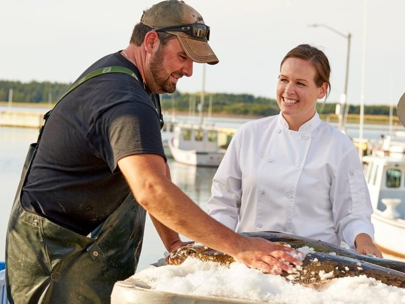 Red Head Fisherman, chef