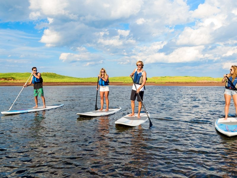 Paddle Board, New London Bay