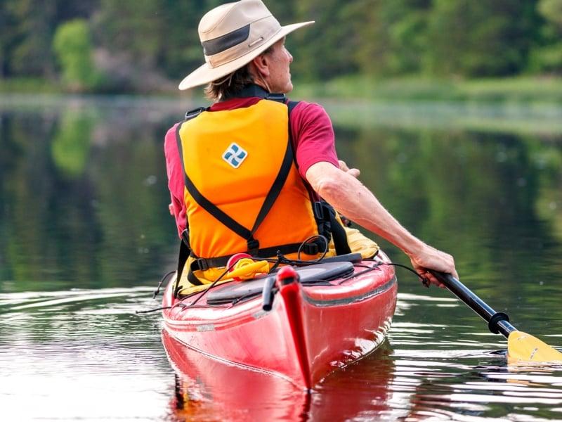 Kayak, water, person kayaking