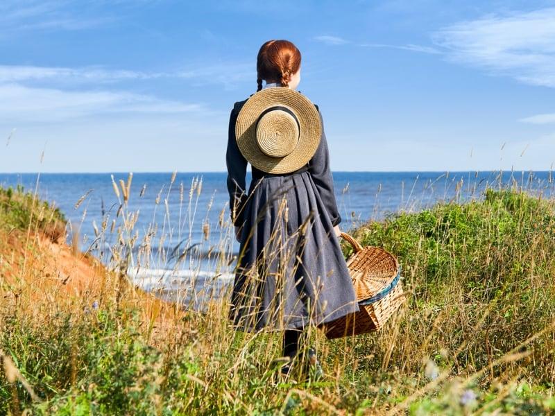 Anne of Green Gables, ocean, beach
