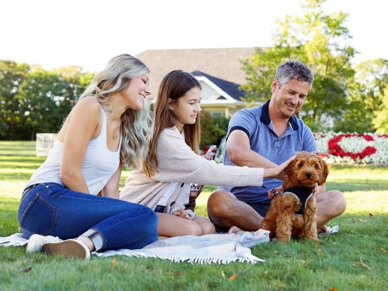 Victoria Park, family sitting