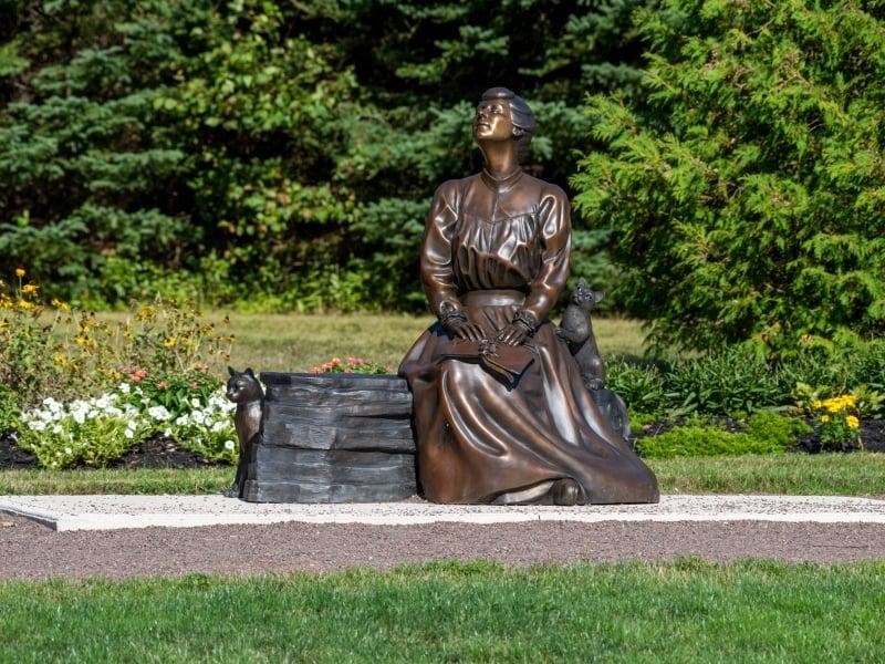 Lucy Maud Montgomery Statue